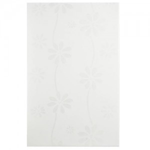 Audubon Glossy Cotton Rectangular 10 in.x 15-7/8 in.Blanco Ceramic Wall Tile (19.69 sq. ft. / case)