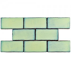 Carnival Glossy Olive Rectangular 3 in. x 6 in. Ceramic Wall Tile (1 sq. ft. / pack)