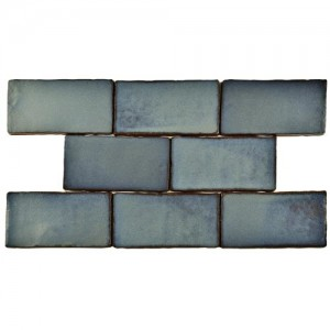 Carnival Matte Spruce Rectangular 3 in. x 6 in. Ceramic Wall Tile (1 sq. ft. / pack)
