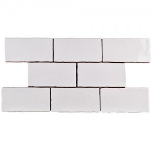 Carnival Matte Pearl Rectangular 3 in. x 6 in. Ceramic Wall Tile (1 sq. ft. / pack)