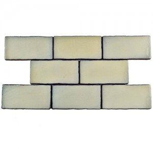 Carnival Matte Bone Rectangular 3 in. x 6 in. Ceramic Wall Tile (1 sq. ft. / pack)