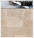 6 in. x 12 in. Tuscany Walnut Tumbled Travertine Paver Tile (Each Sqft. = 2 Pieces)
