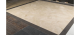 12 in. x 12 in. Durango Cream Solid Honed & Filled Finish Travertine Flooring Tile
