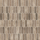 Driftwood Picket Brown Recycled Glass Mosaic Tile