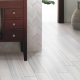 Watercolor Bianco White 6x36 Porcelain Matte Floor and Wall Tile