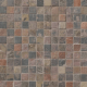 2 x 2 Mixed Slate & Quartzite Square Pattern Tumbled Mosaic Tile